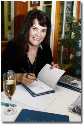 Irish poet Jennifer Liston signing her books at the recent launch of her second poetry collection. Woohoo!